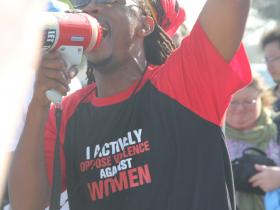 COP17 South African Protester